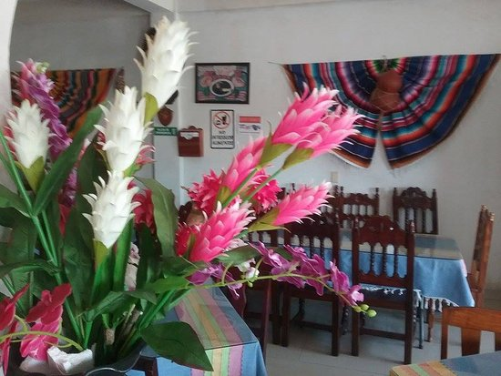 Hotel Quinta Avenida: nice atmosphere and good food