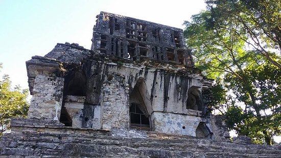 National Park of Palenque: temple ruins