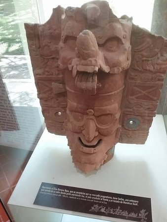 National Park of Palenque: mask from museum