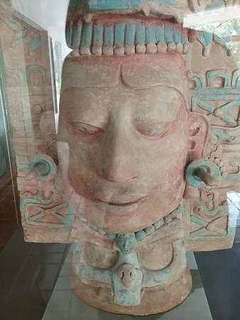 National Park of Palenque: mask from musem