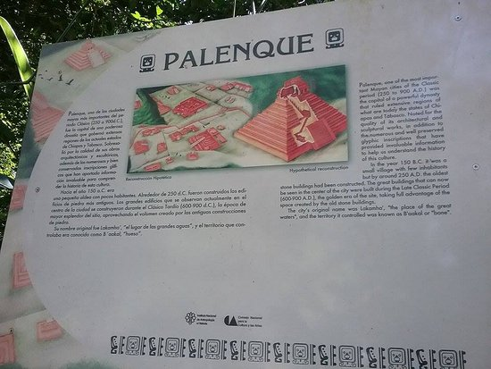 National Park of Palenque: history