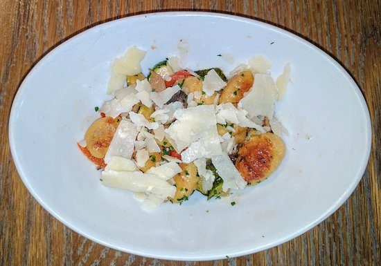 Worthington, OH: On Half Serving of Gnocchi (we split an order)