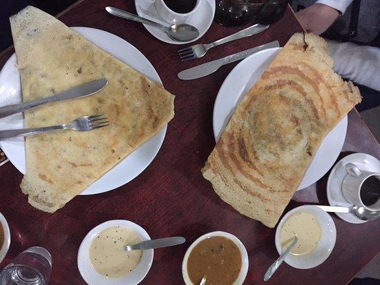 Indian Coffee House: Breakfast.