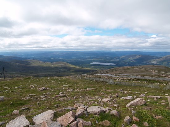 Aviemore, UK: view from top