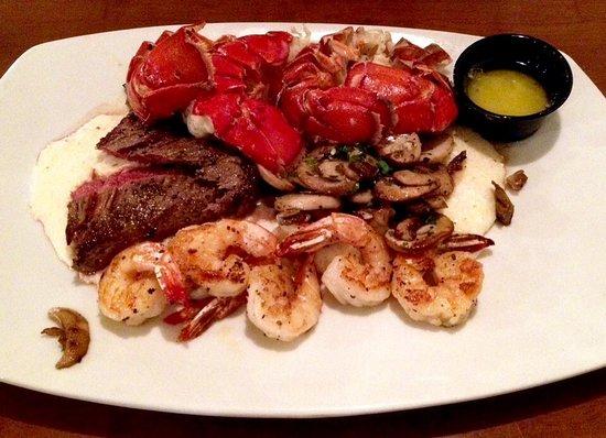 Acme Lowcountry Kitchen : Surf & turf option from the Charleston Restaurant Week menu