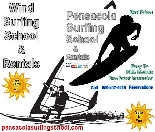 Pensacola Surfing Scool & Rentals
