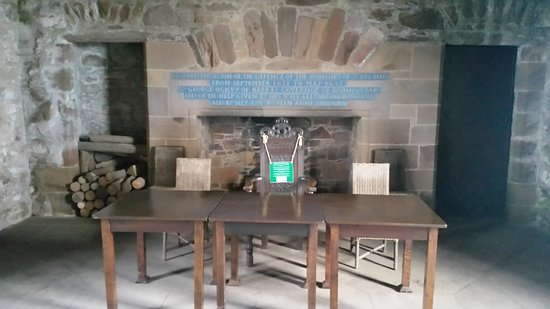 Stonehaven, UK: Restored Great Hall