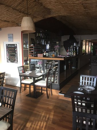 Northamptonshire, UK: Lovely time in Andrea's Restaurant  Come and try our fresh made Mediterranean food :)