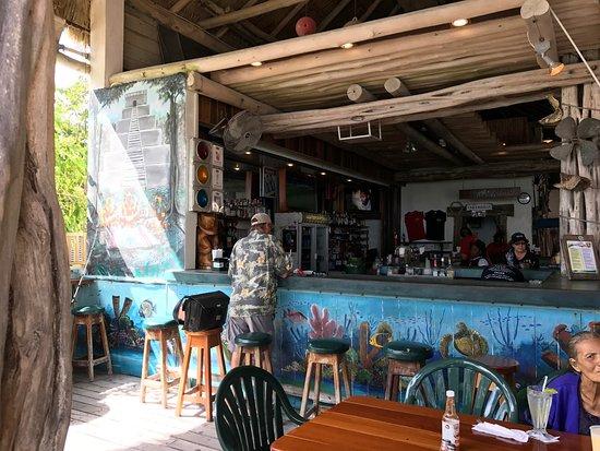 Fidos Courtyard and Pier - Paradise Guy: Real Estate  |Fidos San Pedro Belize