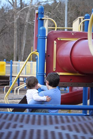 Stockstill Park: Play equipment is very large