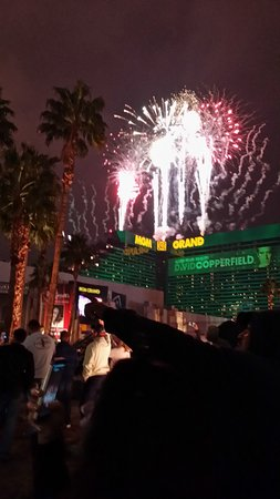 Tropicana Las Vegas A Doubletree By Hilton Hotel View Of Fireworks From The Tropicana