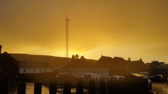 Stonehaven, UK: Stormy sunset