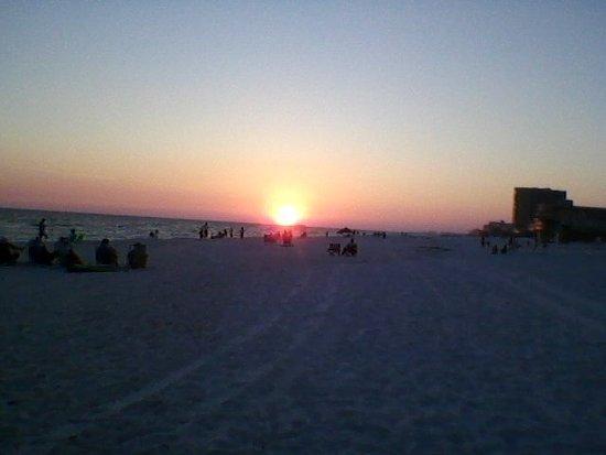 Camp Gulf: Sunset