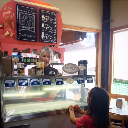 Chimacum, WA: ice cream in the summer