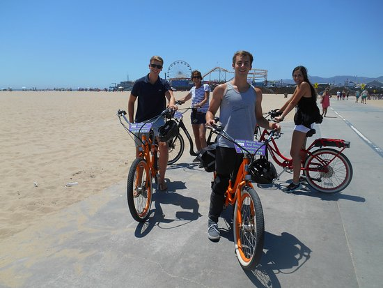 Pedal Or Not Electric Bicycle Tours Santa Monica