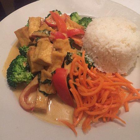 South Daytona, FL: Curry with tofu & Jasmine rice