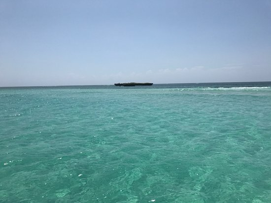 Shimoni, Kenya: on the way to the marine park