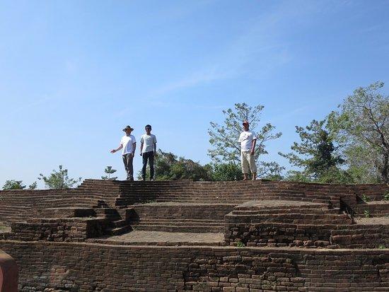Pyay, Myanmar: Palace ruins at Sri Ksetra WHS