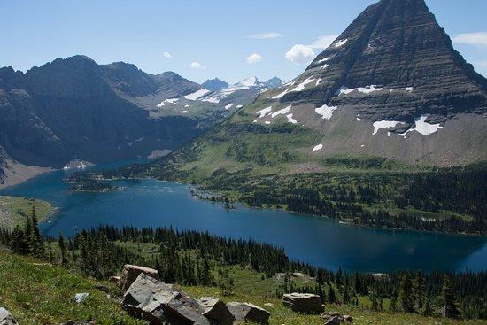 Hidden Lake: From the observation platform