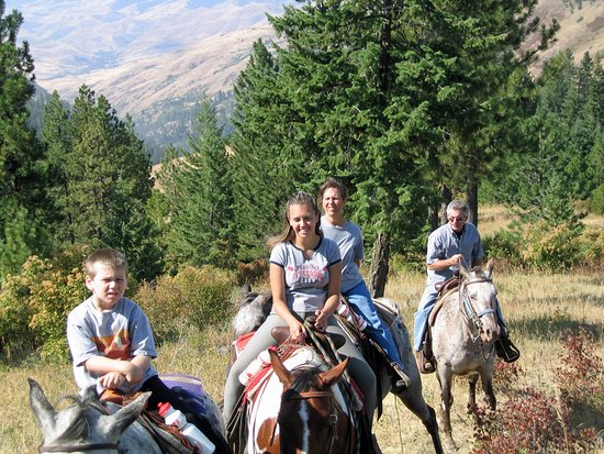 Whitebird Summit Ranch : Horse trail rides