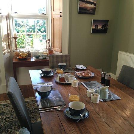 Helmsdale, UK: Breakfast Room