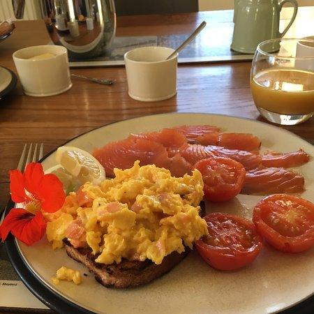 Helmsdale, UK: Breakfast
