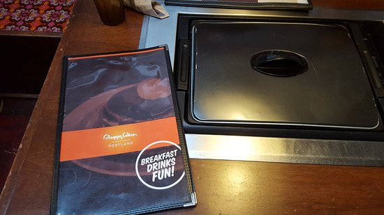Slappy Cakes: Griddle table