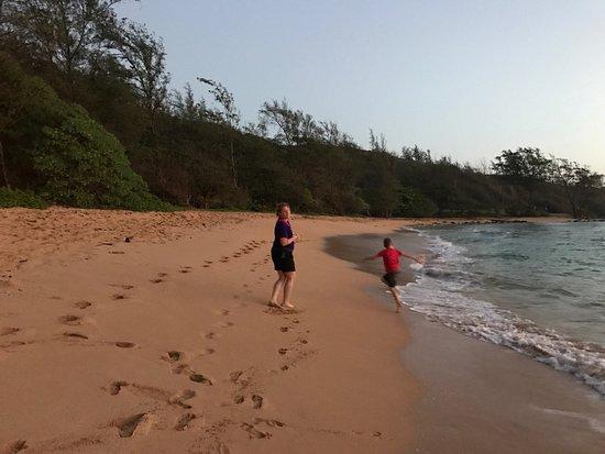 Moloa'a Beach