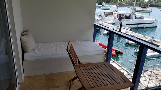 Nice Balcony Bench Picture Of Blue Lagoon Hotel And Marina St Vincent Tripadvisor