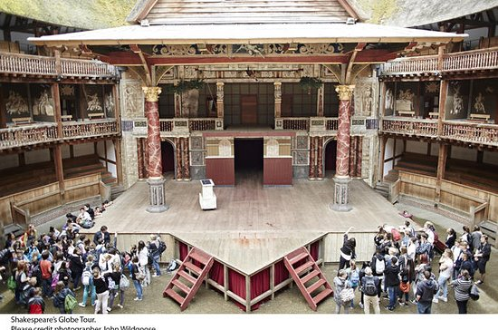 Shakespeare's Globe Theatre-tour en ...