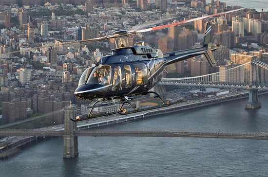 Helikoptertur over New York...