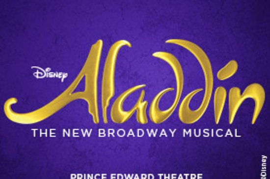 London West End Aladdin The Musical...