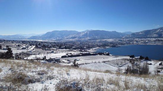 Пентиктон, Канада: Winter view - taken in February 2014