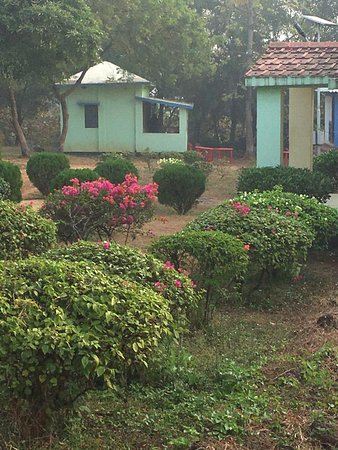 Midnapore, India: Cottages in gopegarh