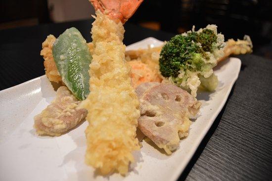 Sen Zushi : Lobster and anago(sea eel) tempura