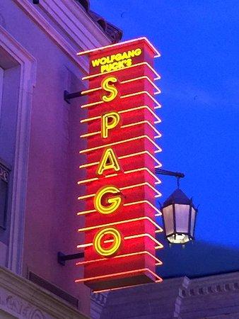 Spago: WP, excellent