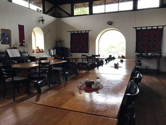 Casa Mojanda: Dining room