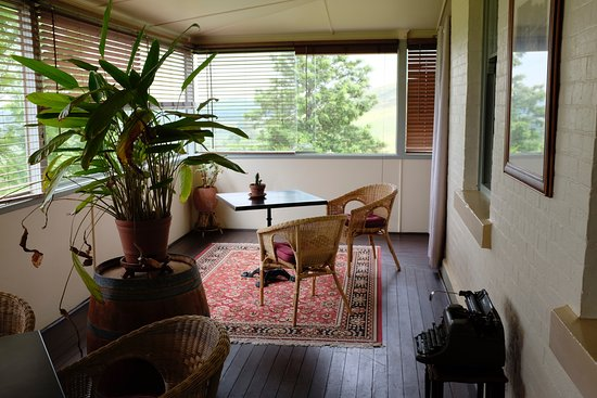 Branxton, Australia: The balcony.