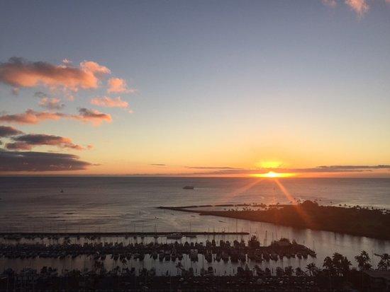 โรงแรมฮาวายปริ้นซ์ไวกิกิ: Another amazing Hawaii sunset