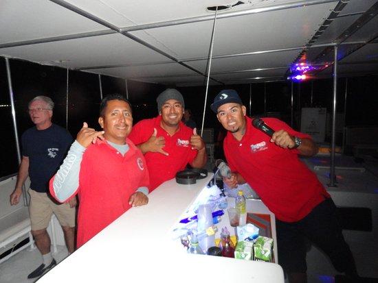 Pez Gato Cabo Sailing Catamarans : Several Of Pez Gato's Fun Crew