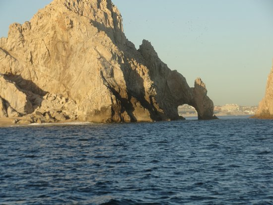 Pez Gato Cabo Sailing Catamarans : A View of Los Arcos From The Pacific Side