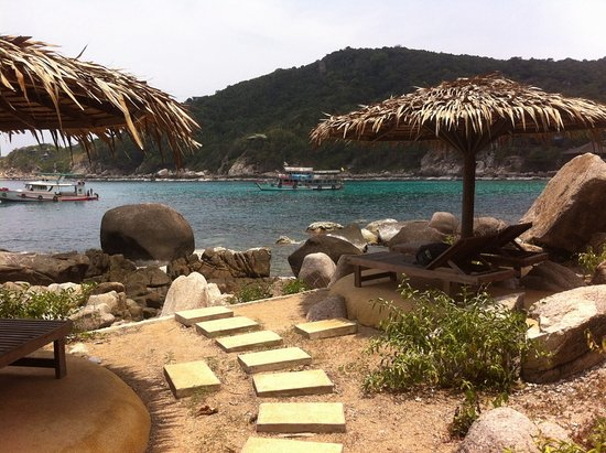 Baan Talay Koh Tao: Amazing snorkelling at your feet