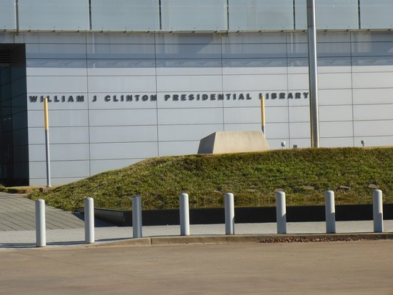 William J. Clinton Presidential Library Picture
