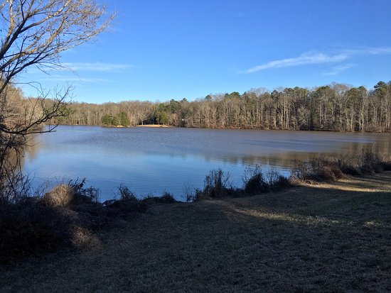 Lancaster, Carolina del Sud: January 27, 2017 - 64 degrees. Beautiful park. Very peaceful today. KJM