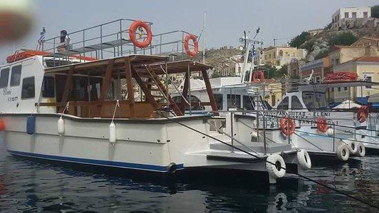 Symi Taxi Boat