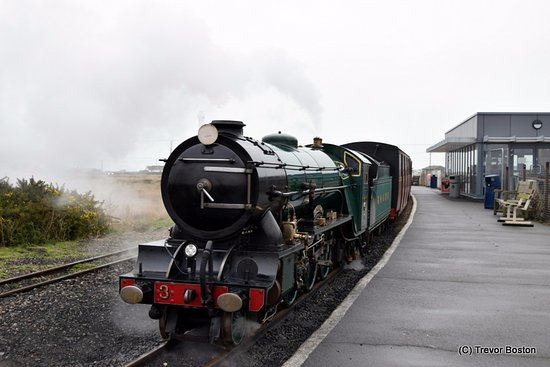 Romney, Hythe and Dymchurch Railway: Our Steam Train at Dungeness