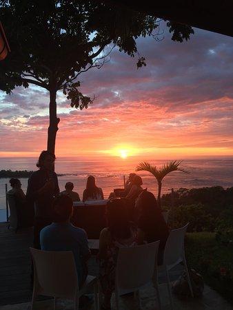 El Castillo Hotel: Sunset