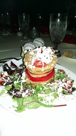 Anniston, AL: Fried Green Tomato Salad