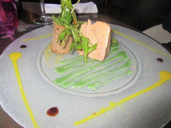 Le Goulet, France: foie gras