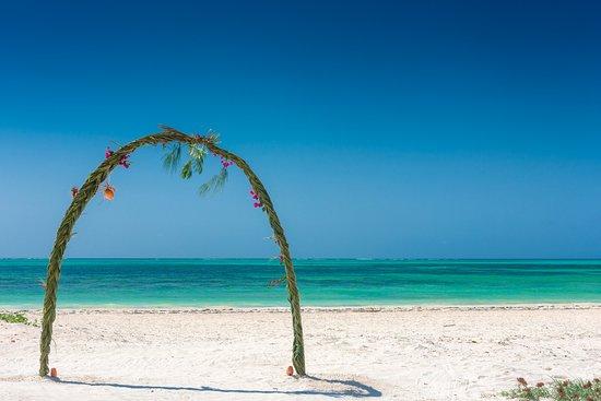 Hakuna Majiwe Beach Lodge: White sand beach